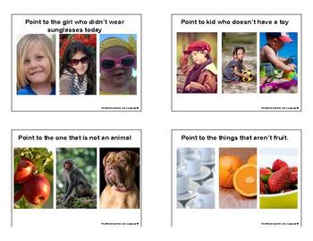 Negation Photo Cards