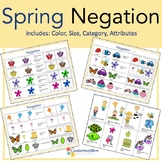 Negation: Speech Therapy (Spring themed)