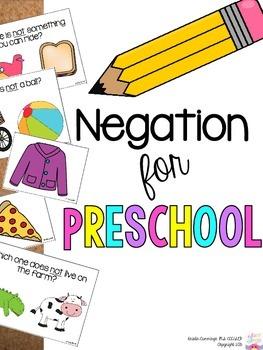Negation for Preschool