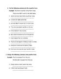 Negation of Past Simple (Regular verbs)