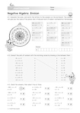 Negative Algebra: Division