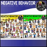 Negative Behavior Clip Art Bundle