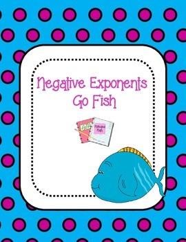 Negative Exponents Go Fish