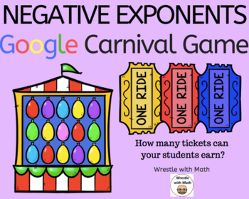 Negative Exponents – Google Carnival Game