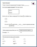 Negative Exponents (Guided Notes)