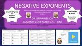 Negative Exponents - Practice Problems, Video Tutorials & Notes!