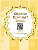 Negative Exponents- QR Code Fun