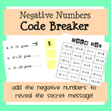 Negative Numbers CodeBreaker