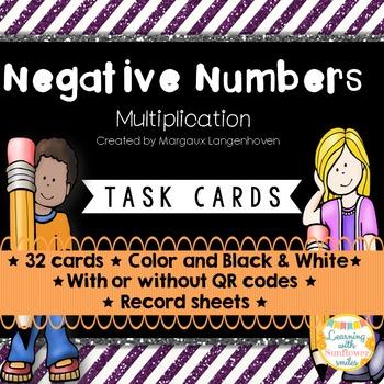 Negative Numbers (Multiplication)