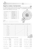 Negative Numbers: Multiplication