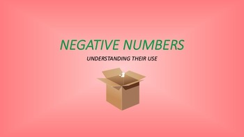 Negative Numbers: Understanding Their Use
