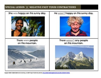 Negative Past Tense Contractions