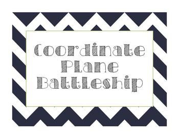 Negative & Positive Coordinate Plane Battleship