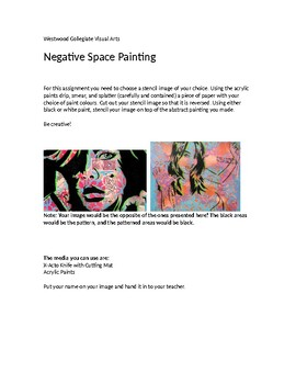 Negative Space Painting