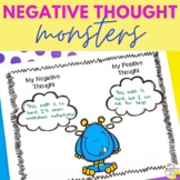 Negative Thought Monsters Counseling Activity