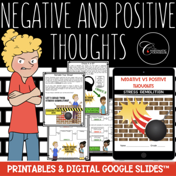 Negative vs Positive Thoughts--It's a Choice! (lessons from Stress Demolition)