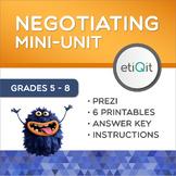 Compromise & Negotiation Middle School Mini-Unit | Prezi & Printable Activities