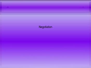 Negotiation (48 slides)