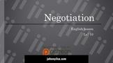 Negotiation lvl 10