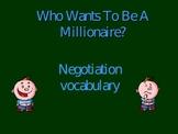 Negotiations millionaire game