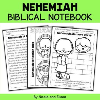 Bible Character Lessons - Nehemiah Activities