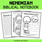 Nehemiah Interacitve Notebook Bible Unit