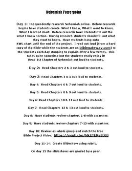 Nehemiah Powerpoint
