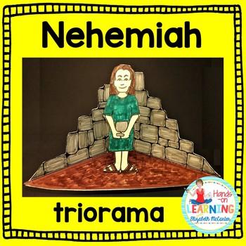 Nehemiah Triorama Bible Craft