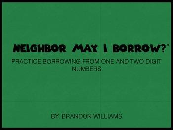 Neighbor May I Borrow? - Math Game