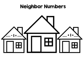 Neighbor Numbers - before and after number sequence