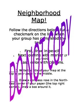 Neighborhood Community Map - create map in groups