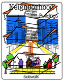 Neighborhood Flashcard Printable