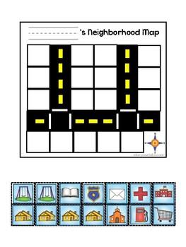 Neighborhood Map Activity