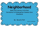 Neighborhood Math and Literacy Activities