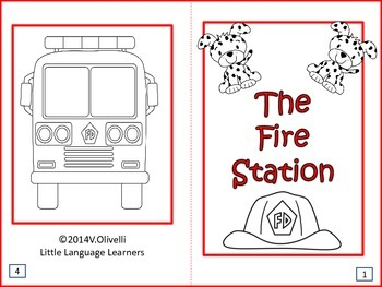 ESL Activity: Fire Station and Concept Development + ELL Newcomers