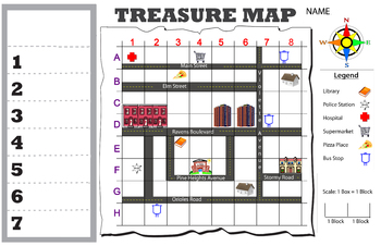 Neighborhood Treasure Map