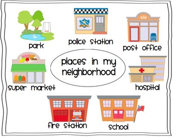 Neighborhood Unit - For use with the California Treasures Language Arts Program