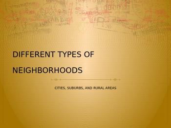 Neighborhood Web Quest