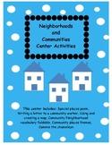Neighborhoods and Communities activity packet!