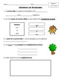 Neighborhoods and Communities