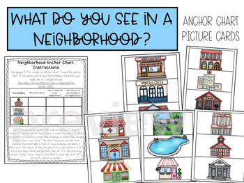 Neighborhoods and Community Helpers Interactive Mini-Unit