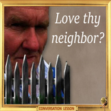 Neighbors - ESL conversation lesson with role play for ESL Adults and kids