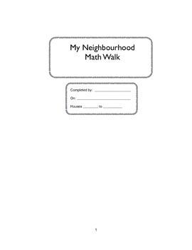 Neighbourhood Math Walk