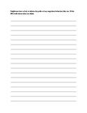 Neighbours ESL Writing Worksheet