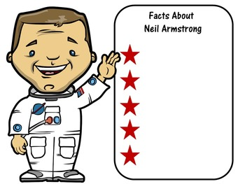 FREE Neil Armstrong Writing Paper