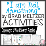 Neil Armstrong Activities Crossword Puzzle & Word Search Find Brad Meltzer Book