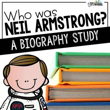 Neil Armstrong Foldable Biography Unit