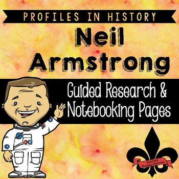 Neil Armstrong Guided Research Activity