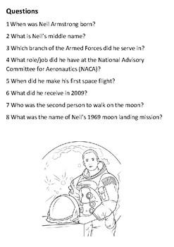 Neil Armstrong Handout