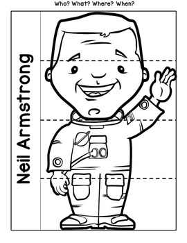 Neil Armstrong Notebooking Pages